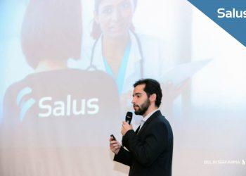 Leon Klinke representa Salus no Biostartup Lab